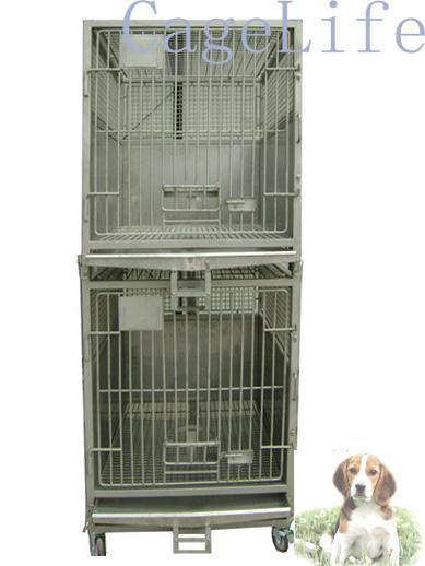 苏杭不锈钢实验比格犬猴笼实验动物笼狗笼