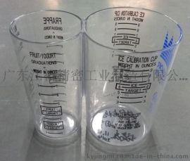 商用厨房透明塑胶两用圆筒、方形量杯