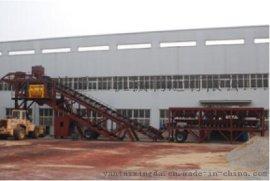 中国出口型鸿达集团移动式混凝土搅拌站YHZS100