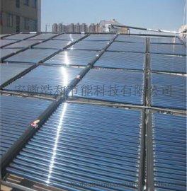 合肥游泳馆太阳能空气能热泵热水工程