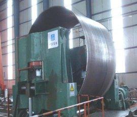 大口径卷管,材质以碳钢为主,q195,q235,q345,16mn等