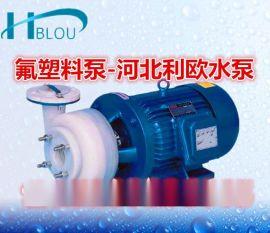 利欧FS/FSB氟塑料离心泵防腐泵50FSB-40化工泵砂浆泵脱**污水泵耐酸碱泵