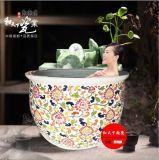供應定製加工各種陶瓷泡澡缸
