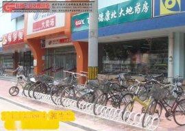 非机动车停车架的焦点自行车停放架