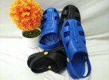 东莞厂家批发特价热销防静电柔软,耐穿轻便六孔护趾拖鞋