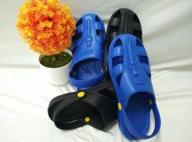 东莞厂家批发特价  防静电柔软,耐穿轻便六孔护趾拖鞋