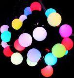 LED彩色球泡灯串