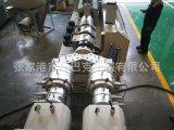 PE管材生产线 pe管双螺杆挤出生产线 单层管 双层管 三层管