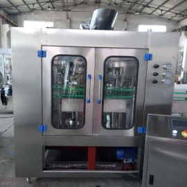 厂家直销 果汁玻璃瓶灌装机 全自动果汁饮料灌装机 饮料灌装机