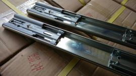 重型阻尼滑轨抽屉轨道导轨53宽抽屉阻尼滑轨承重113公斤