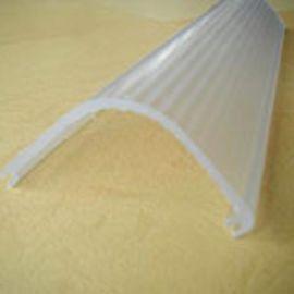 亚克力V型半透明条纹灯罩,PMMA挤塑灯罩