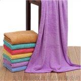 毛巾廠家直銷 超細纖維珊瑚絨浴巾毛巾三件套 加厚吸水浴巾