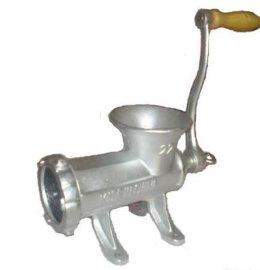 手搖絞肉機用於肉類絞肉,手動絞肉機