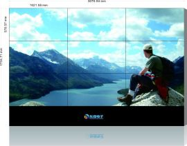 南京东煌金祥彩票app下载HLCD三星46寸低亮度液晶拼接屏