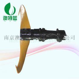 机壳铸铁、叶轮聚氨酯低速潜水推流器用途QJB3/4-1100