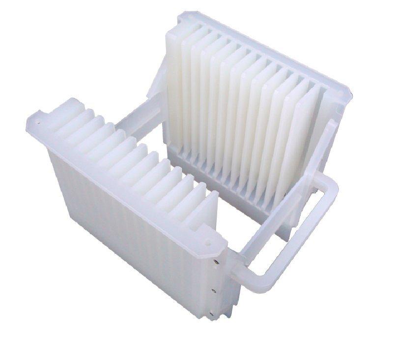 厂家批发 PFA清洗花篮 晶圆太阳能硅片耐酸碱铁氟龙花篮