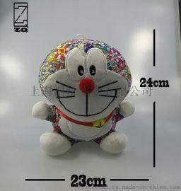 毛绒玩具多啦A梦 机器猫娃娃 公仔