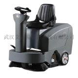 五金机电厂油污地面专业驾驶式全自动洗地机