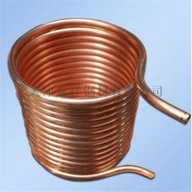 专业生产铜管加工折弯 空心铜管 厂家直销