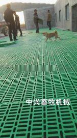 绵羊专用漏粪网床 育肥羊用床板 塑料羊床生产厂家