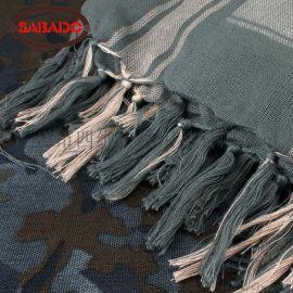 新款戶外軍迷多用迷彩僞裝網巾 大頭巾戰術圍巾