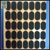 黑色硅胶垫 硅胶防滑脚垫