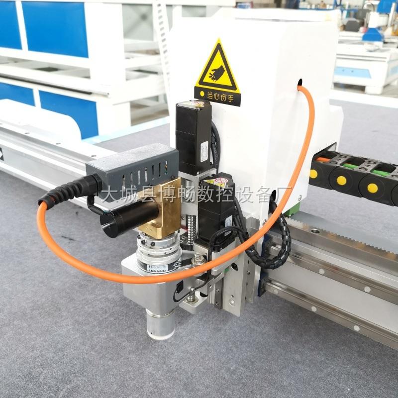 軟玻璃PVC水晶板振動刀切割機