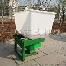 电瓶式化肥抛洒机安装视频农耕底肥施肥器