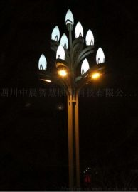 八叉九火玉兰灯 四川玉兰灯厂家  LED玉兰灯