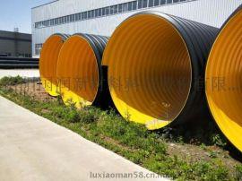 钢带波纹管 大口径市政排污管大口径市政排水排污管