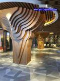 蚌埠包柱铝单板 铝板包柱造型 铝树包柱图片