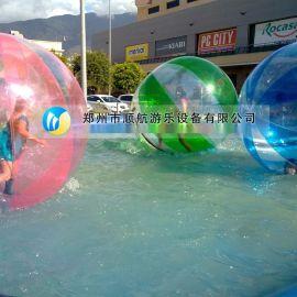 小型广场游乐儿童水上步行球