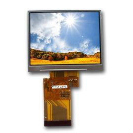 思坦德STD3.5寸液晶屏 显示屏 广视角 RGB 54PIN 可配电阻触摸屏