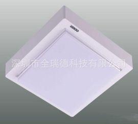 LED灯罩 PC灯罩 白色磨砂PC板折弯热压加工成型 方形吸顶灯罩加工件定制