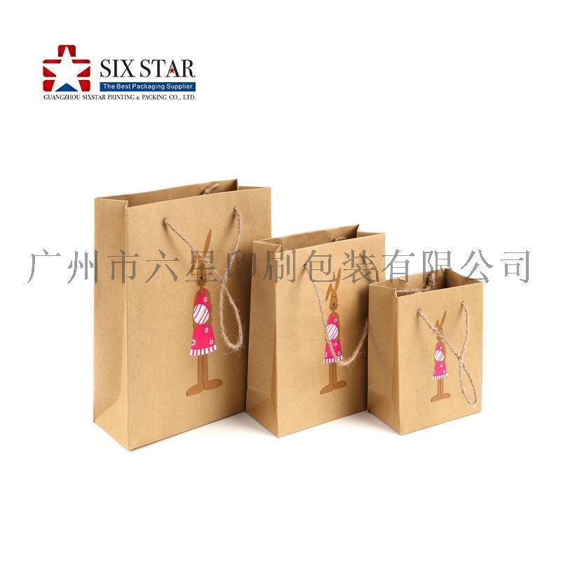 高質量熱銷定製款手挽袋紙袋禮品袋廠家製造
