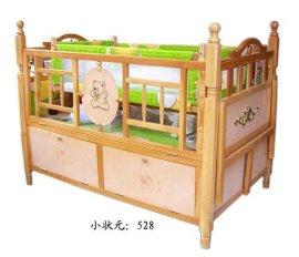 多功能**实木婴儿床 (528型)