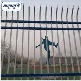 小区别墅锌钢护栏 体育球场锌钢护栏 工厂厂区围墙护栏