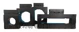 江蘇一體式電氣火災監控探測模組 方孔型ARCM-L18030