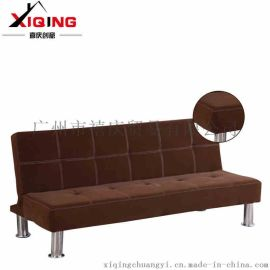 喜庆创意 多功能懒人沙发床折叠床小户型客厅单人床简约现代