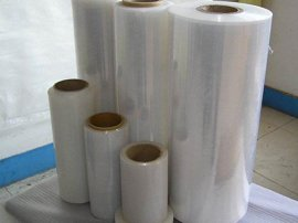 pof膜 热收缩膜Pof热收缩印刷膜,PE热收收缩包装膜、拉伸缠绕膜