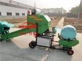 全自动青贮裹包机 秸秆青贮打捆机厂家