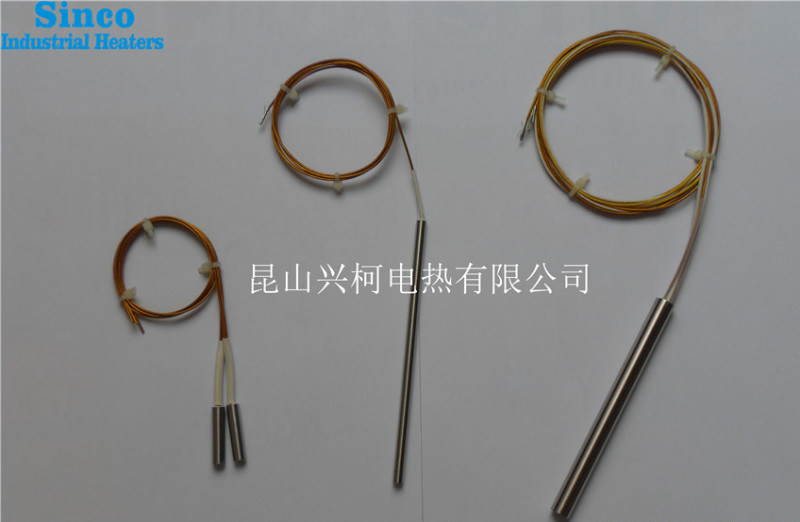 廠家直銷加熱管 直接出線單頭電熱管 直徑 長度任意
