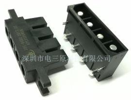04D芯充电桩电源连接器 航空插头 热插拔端子 DJL17-4T DJL17-4Z