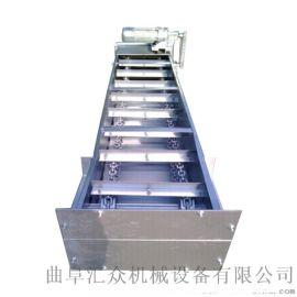 按需定做各种型号爬坡输送刮板机加工定制 高炉灰输送刮板机