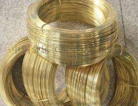 惠州黄铜扁线厂家,东莞H65黄铜扁线