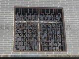 永奇金属制品仿古屏风锌钢百叶窗生产拼装好发货