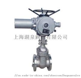 上海湖泉Z941W 304不锈钢电动闸阀