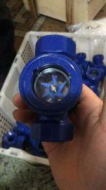 定做法兰对夹视镜 16Mn合金螺纹视镜 水流指示器