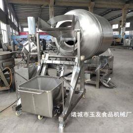 厂家直销真空滚揉机是给鸡叉调味腌制机