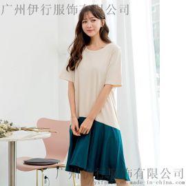 伊袖杭州环北服装尾货批发市场在哪折扣 女装库存尾货批发橘色棉衣